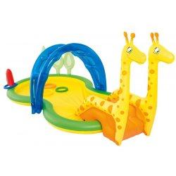 """Vaikiškas pripučiamas baseinas su nusileidimu """"Žirafa"""""""