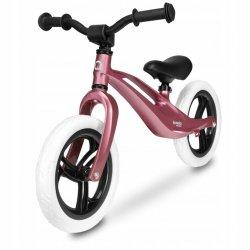 Metalinis balansinis dviratukas - Bart, rožinis