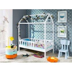 Viengulė lova - namas 80x160 cm
