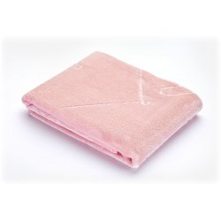 Švelnus rožinis pledukas 80 x 100 cm