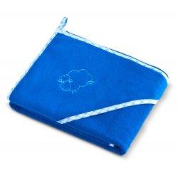 """Mėlynas rankšluostis vaikams """"Avytė"""" 80 x 80 cm"""