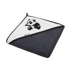 """Vaikiškas rankšluostis su gobtuvu """"Panda"""", 100 x 100 cm"""