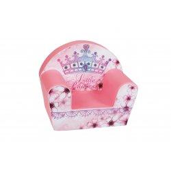 """Rožinis minkštas foteliukas - """"Mažoji princesė"""""""