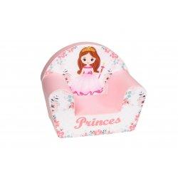 """Rožinis fotelis vaikams - """"Princesė"""""""
