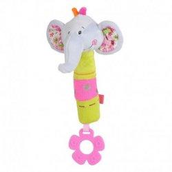 Žaisliukas su kramtuku - drambliukas