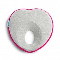 Rožinio atspalvio pagalvė kūdikiui