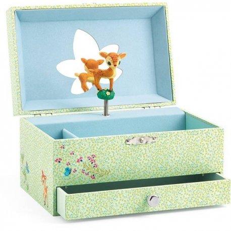 """Djeco muzikinė papuošalų dėžutė """"Bembis"""""""