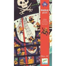 """Djeco dėlionė """"Piratų laivas"""" 4+"""