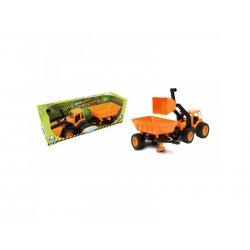 Traktorius - buldozeris su priekaba 55 cm