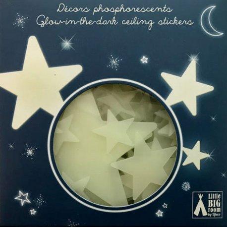 Tamsoje šviečiančios žvaigždelės