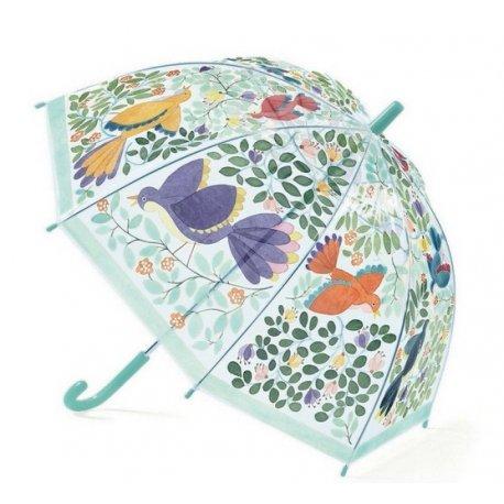 """Djeco vaikiškas skėtis """"Gėlės ir paukščiai"""""""