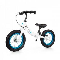"""Baltas balansinis dviratis su stabdžiais - """"Adventure"""""""