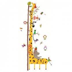 """Sienų lipdukas - ūgio matuoklė """"Žirafa"""""""