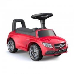 Paspiriama mašinėlė Mercedes AMG - raudona