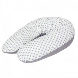 Universali maitinimo pagalvė mamoms (190x35), rombai