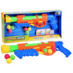 Minkštų kamuoliukų bei vandens šautuvas