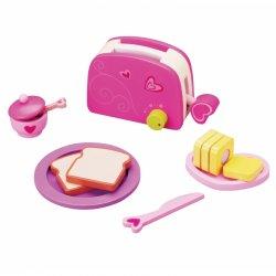 Vaikiškas medinis tosteris