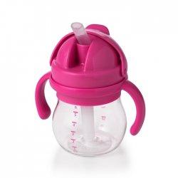 OXO buteliukas su šiaudeliu ir rankenėlėmis 4 mėn+