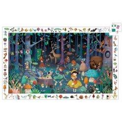 """Pažinimo dėlionė """"Stebuklingas miškas"""" 100d."""