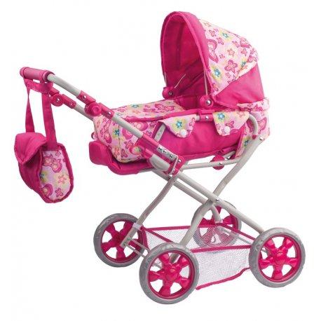 Mažas lėlės vežimėlis