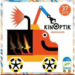 """Djeco Kinoptik magnetinis rinkinys """"Transportas"""" 5+"""