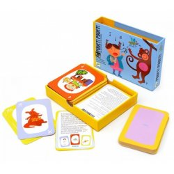 """Mimikos ir garsų kortų žaidimas vaikams """"Pouet pouet"""""""
