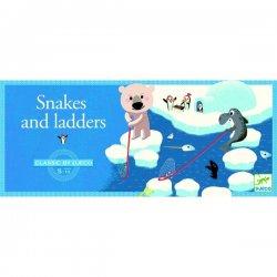 """Djeco stalo žaidimas vaikams """"Gyvatės ir kopėčios"""" 5+"""