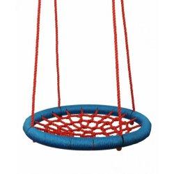 Mėlynos/raudonos tinklinės sūpynės 85 cm