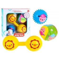 Minkštų sensorinių žaisliukų komplektas