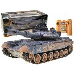 RC valdomas tankas - T90