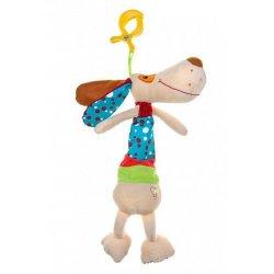 """Pliušinis žaislas su patraukiama virvele - """"Šuniukas"""""""