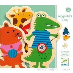 """Djeco magnetukai su gyvūnais """"Belty"""" 2+"""