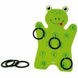 """Žalia sienelė - žiedelių žaidimas """"Varlė"""""""