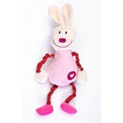 """Rožinis kūdikių žaisliukas - """"Kiškutis"""""""