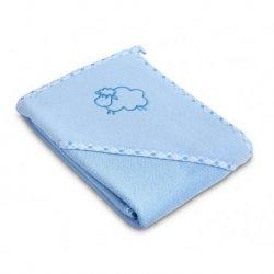 """Mėlynas rankšluostis - """"Avytė"""" 80x80 cm"""