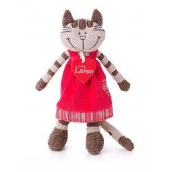 """Pliušinis žaislas katinas - """"Angelique"""""""