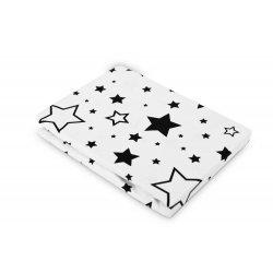 Baltas užvalkaliukas su žvaigždelėmis
