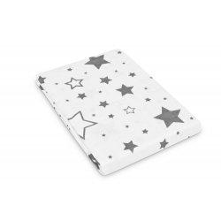 """Baltos spalvos vystykliukas - """"Žvaigždelės"""" 120x120 cm"""