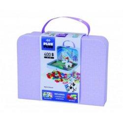 Pastelinės spalvos PLUS PLUS lagaminas 400 vnt