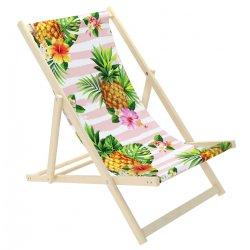 """Sulankstoma paplūdimio kėdė - """"Ananasai"""""""