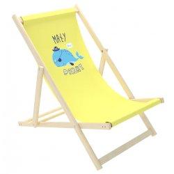 """Geltonas paplūdimio gultas - """"Piratas"""""""