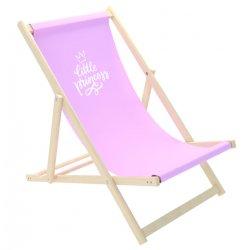 """Rožinė paplūdimio kėdė - """"Little princess"""""""