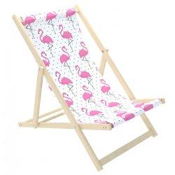 """Paplūdimio gultukas - """"Vienišas flamingas"""""""