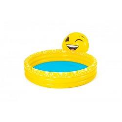 """Geltonas baseinėlis su fontanu - """"Šypsena"""""""