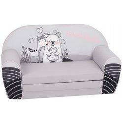 """Pilka sofa - """"Stirnaitė ir meškutis"""""""