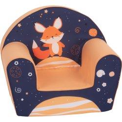 """Oranžinis foteliukas - """"Lapiukas"""""""