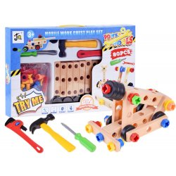Medinis konstruktorius skirtas kūrybingiems vaikams
