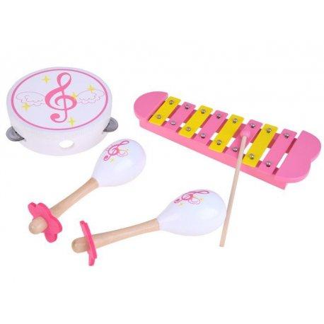 Medinis muzikinių instrumentų rinkinys