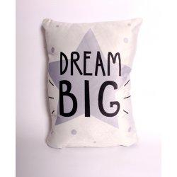 """Dekoratyvinė pagalvytė """"Dream big"""""""