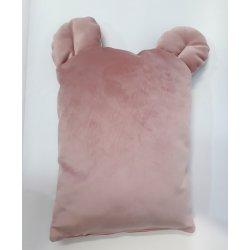 """Rožinė dekoratyvinė pagalvė su ausytėmis """"Pink"""""""
